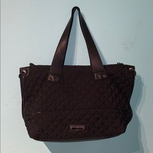 STEVE MADDEN — Black Quilted Bag